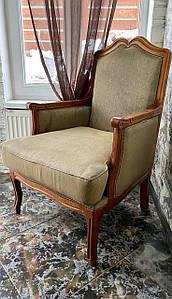 Антикварное мягкое кресло «Оливер»