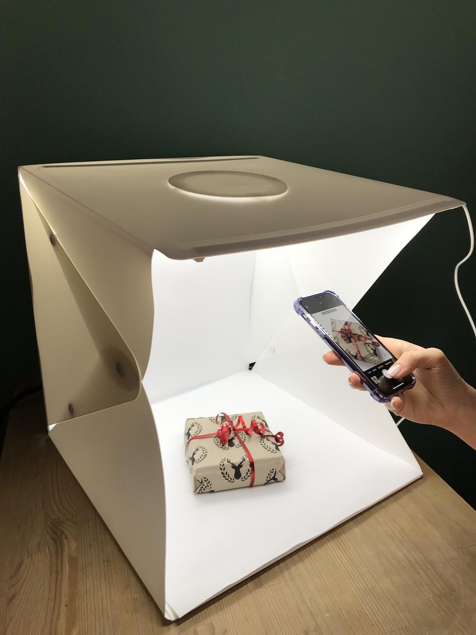 Світловий лайткуб, photobox з LED підсвічуванням