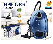 Вакуумний пилосос мєшковой Haeger HG-8661 (2400W)   пилозбірник 2 літра