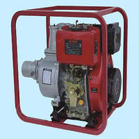 Мотопомпа дизельная WEIMA WMСGZ100-30Е (120 м³/час)