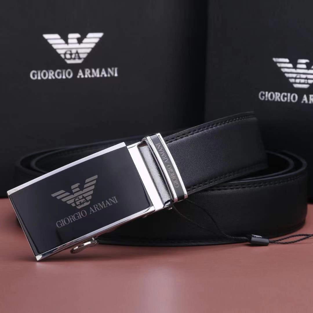 Мужской кожаный Ремень Giorgio Armani