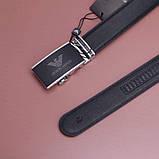 Мужской кожаный Ремень Giorgio Armani, фото 2