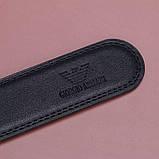 Мужской кожаный Ремень Giorgio Armani, фото 4