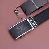 Мужской кожаный Ремень Giorgio Armani, фото 5