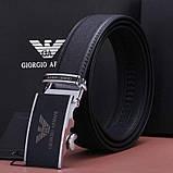 Мужской кожаный Ремень Giorgio Armani, фото 8