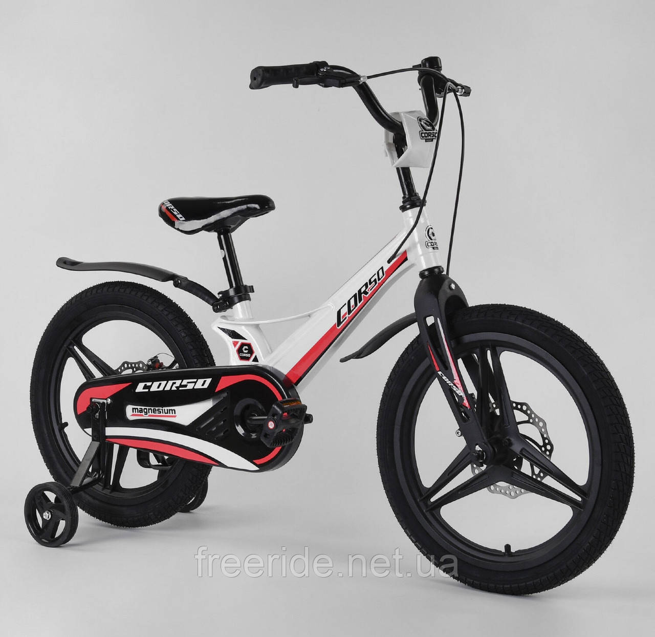 "Детский Велосипед CORSO 18"" MG, магниевая рама, литые диски"