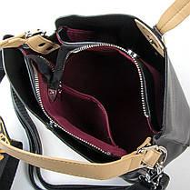 Сумка Женская Классическая искусственная кожа FASHION 2-011 17930 black, фото 2