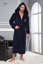 Махровий чоловічий халат