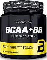 Аминокислоты BCAA + B6 BioTech 340 tab