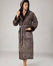 Махровій чоловічий халат . Бамбук