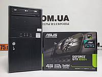Игровой компьютер EuroCom, Intel Core i7-4790s 4.0GHz, RAM 8ГБ, SSD 120ГБ, HDD 500ГБ, GTX 1050Ti 4GB, фото 1