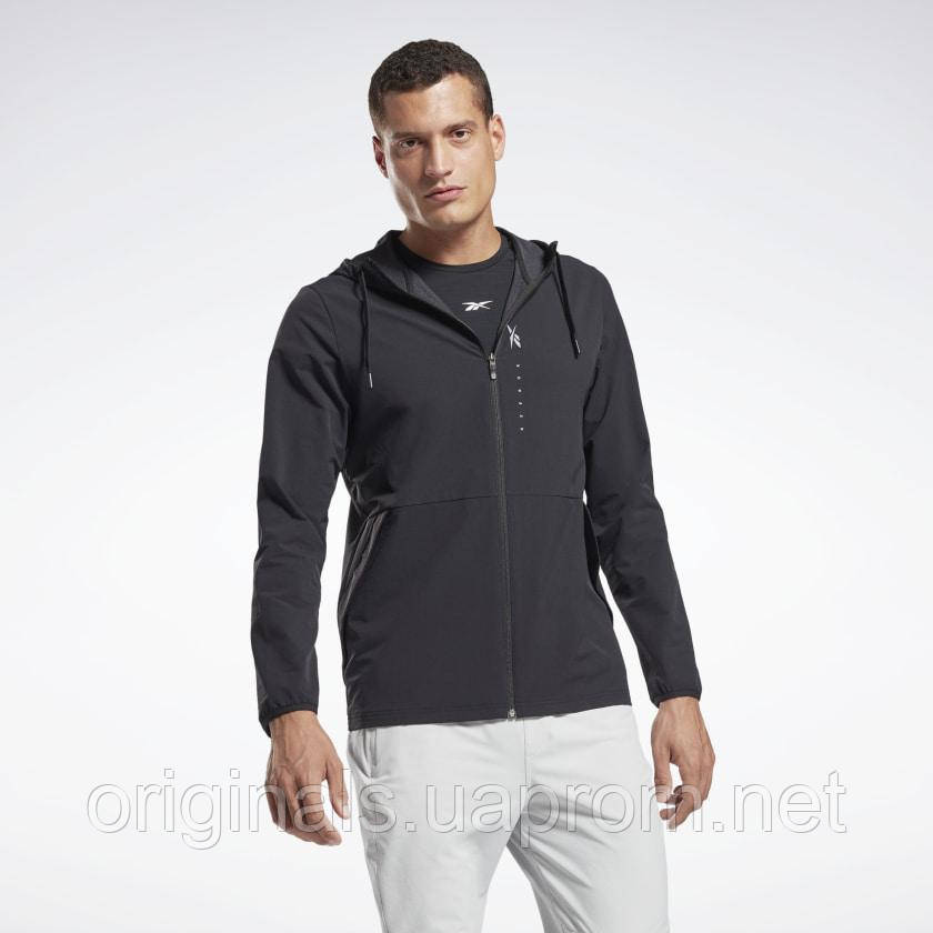 Толстовка мужская Reebok Hudi Performance Zip Up GJ6416 2021
