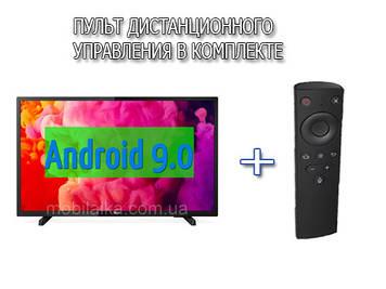 Телевізори з діагоналлю екрана 34 дюйма SmartTV (Android 9.0) + FullHD + T2 + USB + HDMI