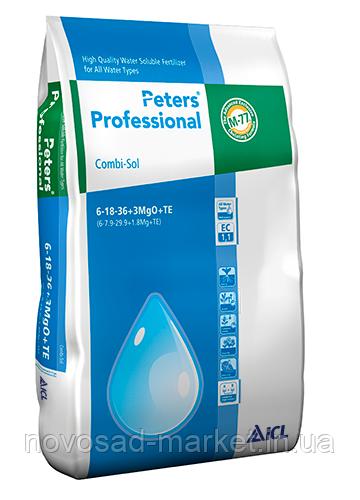 Peters Professional Combi-Sol 6+18+36+3MgO+TE (Интенсивная окраска и цветения) 15кг
