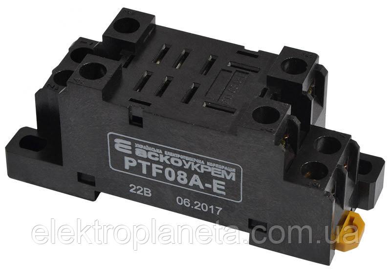 PTF08A-E колодка под реле LY2