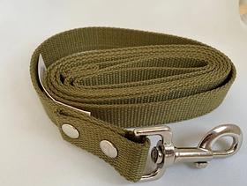 Поводок брезентовый 20мм/3,6м для собак Фауна 202140