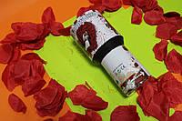"Пневматична хлопавка ""Пелюстки троянд"" 60 див. (наповнення - пелюстки троянд), фото 1"