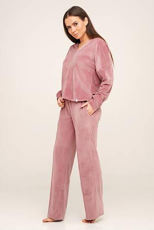 Велюровый костюм штаны и кофта TM Orli, фото 2
