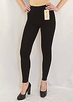 Лосины женские трикотажные Размеры: M - L - XL Леггинсы трикотажные (Серый цвет), фото 3