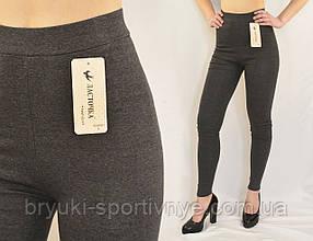 Лосіни жіночі трикотажні Розміри: M - L - XL Жіночі трикотажні (Сірий колір)
