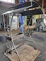 Кованый мангал с крышей АРТ КМ № 20