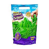 Песок для детского творчества - KINETIC SAND COLOUR (зеленый, 907 g)