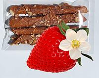 Пастила натуральные конфеты жевательные клубника без сахара в упаковке 18 штук