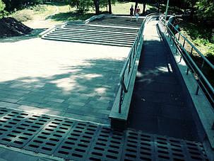 Закінчено роботи по монтажу системи сніготанення сходів й пандуса в парку Зеленый Гай м. Дніпро
