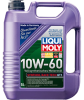 Моторное масло синтетика LIQUI MOLY 10W-60 5L Synthoil Race Tech GT1 для автоспорта и гонок
