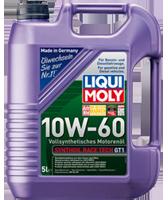 Моторное масло синтетика LIQUI MOLY 10W-60 5L Synthoil Race Tech GT1 для автоспорта и гонок