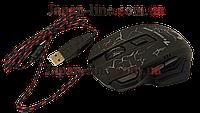 Ігрова мишка GAMING MOUSE X7 - провідна миша з LED з підсвічуванням 4800 dpi