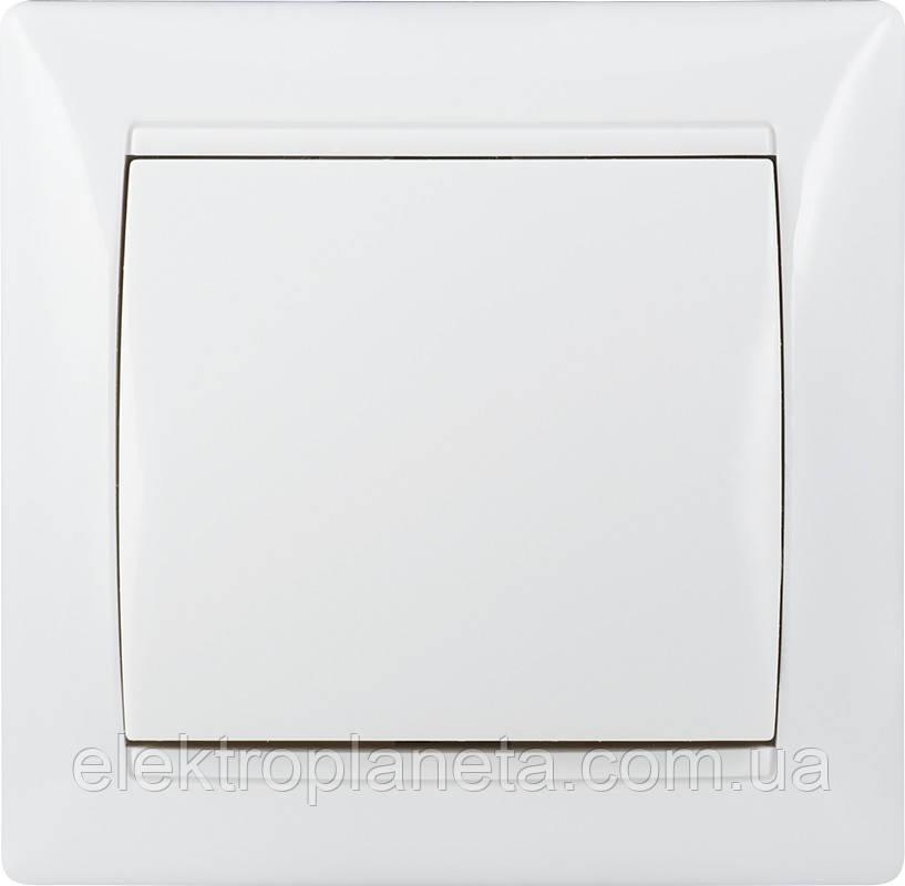 Вимикач 1-кл. BB10-1-0-Fr-W