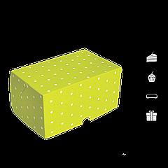 Коробка для торта КТ 0215салатовая 177х118х78мм