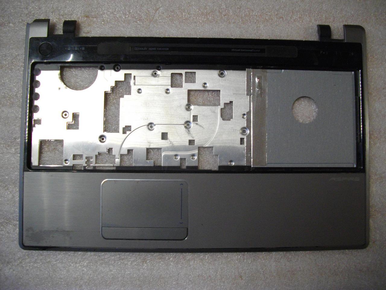 Корпус. Каркас Средняя часть, верхняя часть корпуса с тачпадом Acer Aspire 5553, 5553G