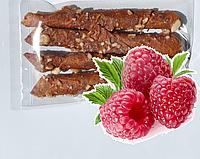Пастила натуральные конфеты жевательные малина без сахара в упаковке 18 штук