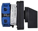 Кулачковий пакетний перемикач ПКП SBI 20A/1.822 (0-1 2 полюси), фото 2