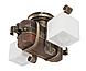 Люстра деревянная потолочная для дачи на 2 плафона 690312пот, фото 2