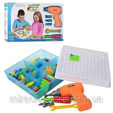 Конструктор Tu Le Hui Creative Puzzle 4в1 чемодан 193 детали TLH-28, фото 2