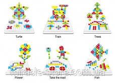 Конструктор Tu Le Hui Creative Puzzle 4в1 чемодан 193 детали TLH-28, фото 3