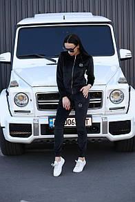 Женский спортивный костюм Plein Platinum Black