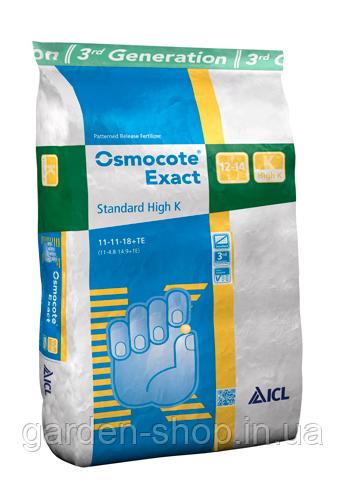 Добриво Osmocote Exact Standard 12-14м 15-9-11+2MgO+TE 25кг