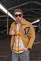 Мужская куртка коричневая 17, фото 1