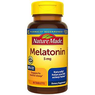 Nature Made  Мелатонин 5 мг 90 таб