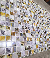 Стінні декоративні панелі Пвх для кухні.офісу.ванни.мозайка Флоренція 485*960мм-1шт