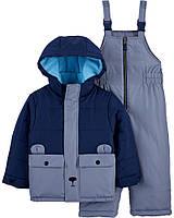 Дитячий зимовий костюм - куртка та напівкомбінезон Картерс для хлопчика