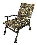 Кресло карповое камуфлированное Elektrostatyk F5R. В наличии. Есть самовывоз в Киеве, фото 6