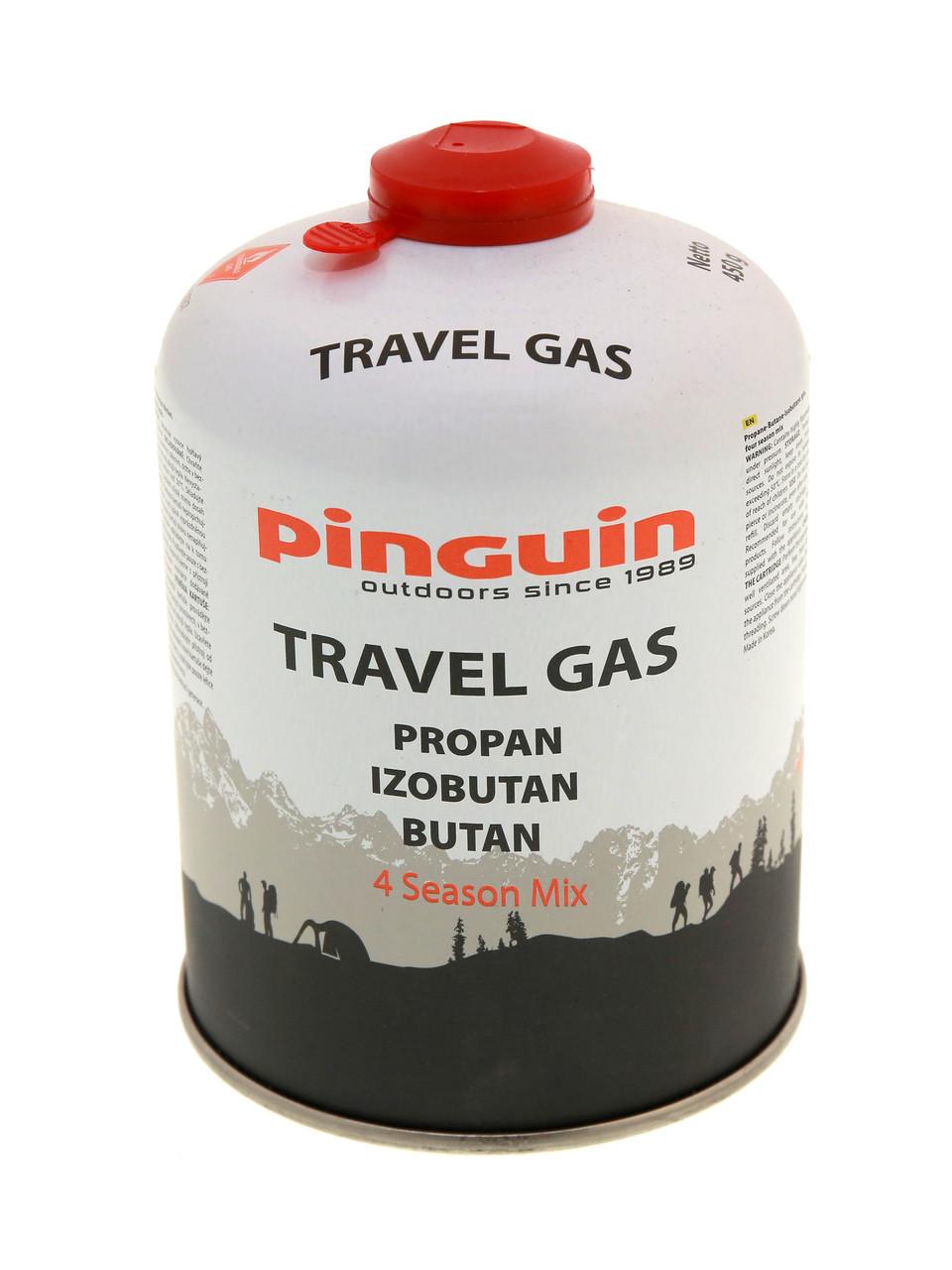 Газовый баллон для горелок  Pinguin 601450  450 г