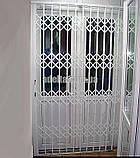Раздвижные решетки на двери Шир.1500*Выс2550мм для дома, фото 4
