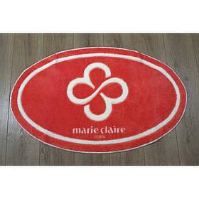 Килимок для ванної Marie Claire - Sally кораловий 66*107 овал