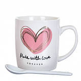 Чашка Сердечко 200 мл. Рандомный выбор дизайна, фото 2
